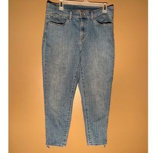 Levi Twist Tie Skinny Jeans